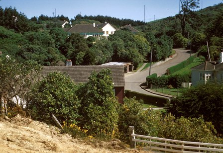 19 Entrance to Makara Radio village looking south.jpg